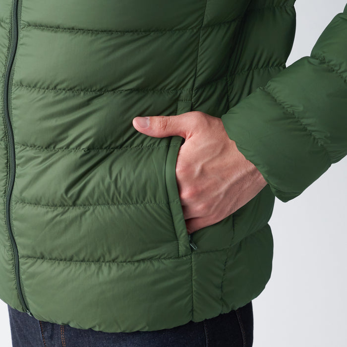 Men's Light Weight Pocketable Down Jacket
