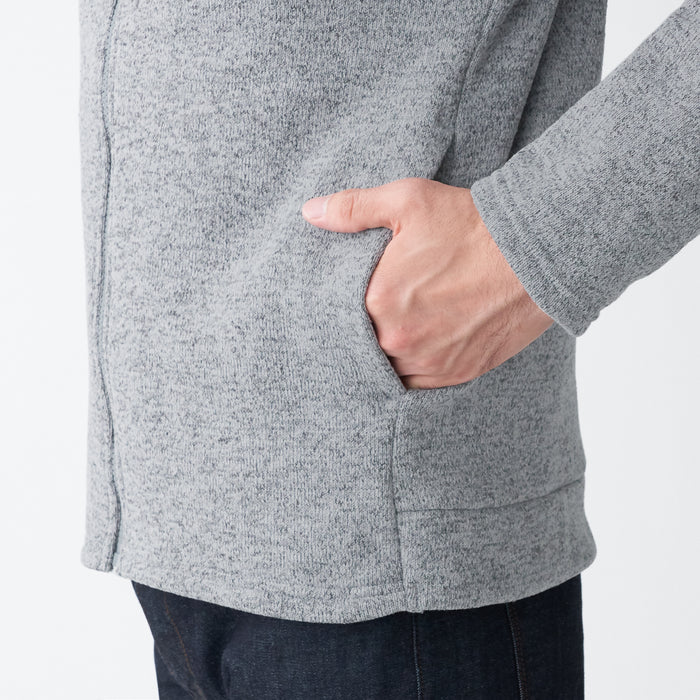 Men's Knit Fleece Zip Jacket