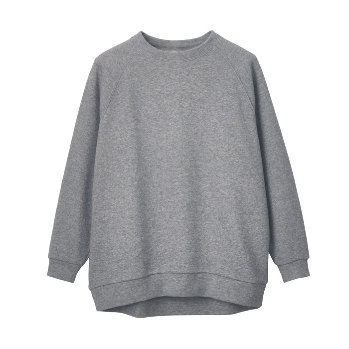 Women's Stretch French Terry Oversized Pullover