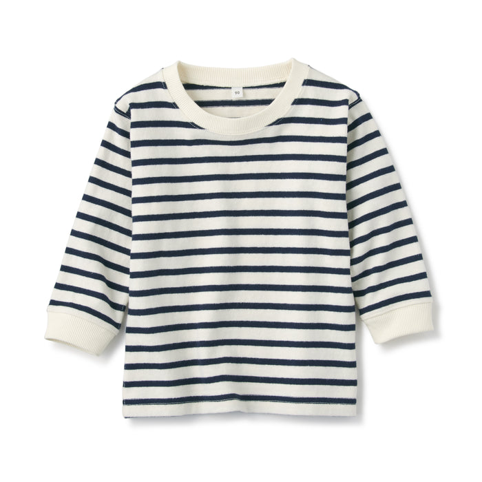 Baby's Indian Cotton Loose Twist Long Sleeve T-Shirt