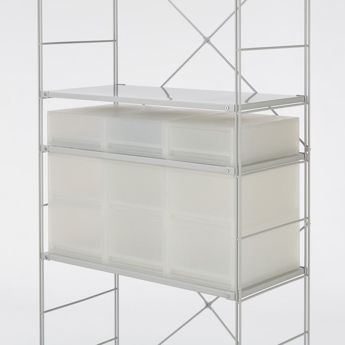 PP Storage Case Drawer Shallow with Partition