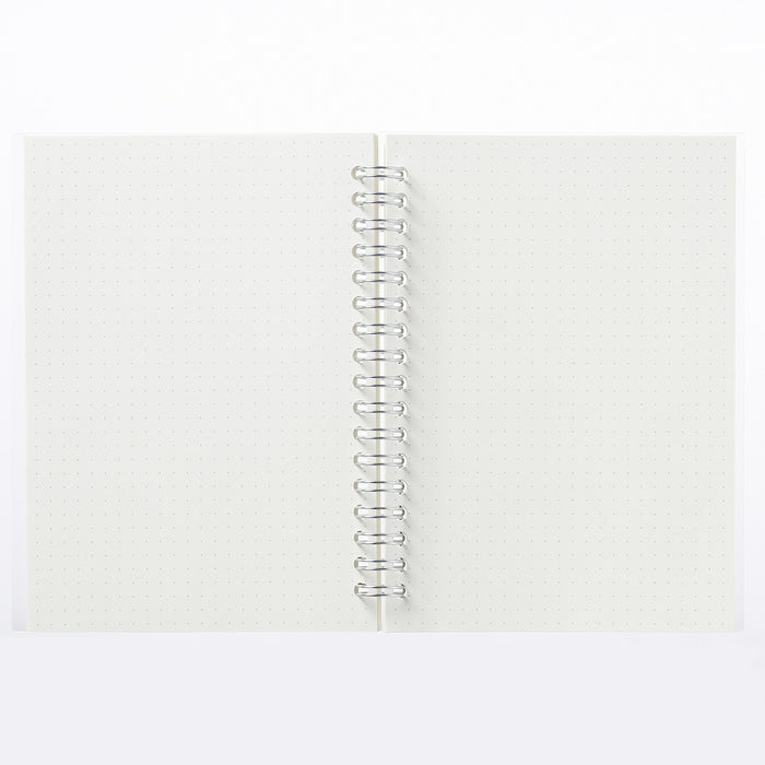 Double Ring Dot Grid Notebook