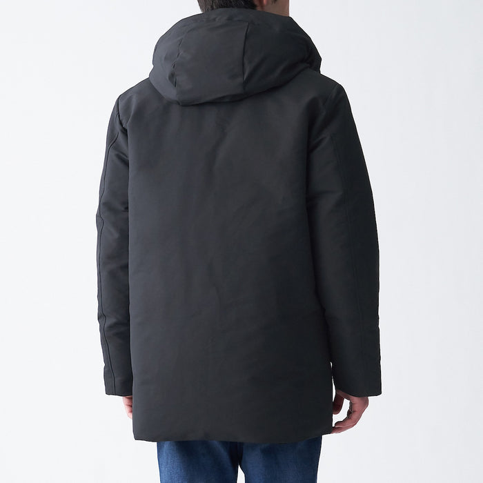 Men's Cold Protection Hooded Down Coat