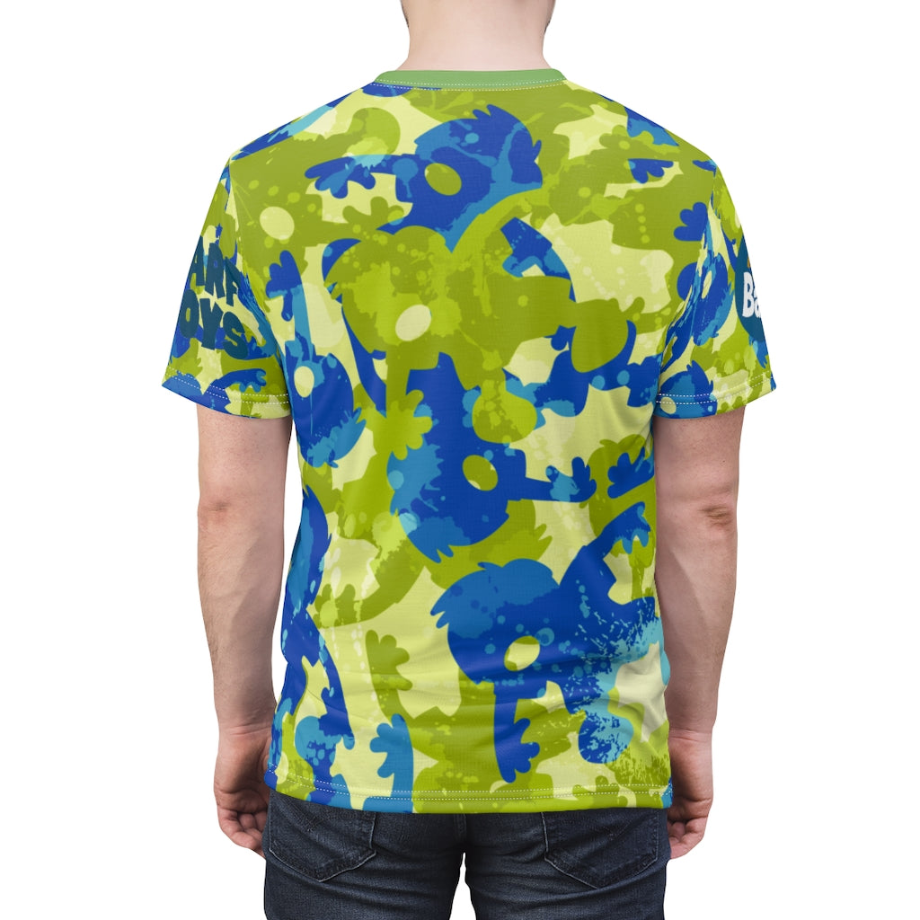 All Over Print Limited Edition Work Out Barf Shirt