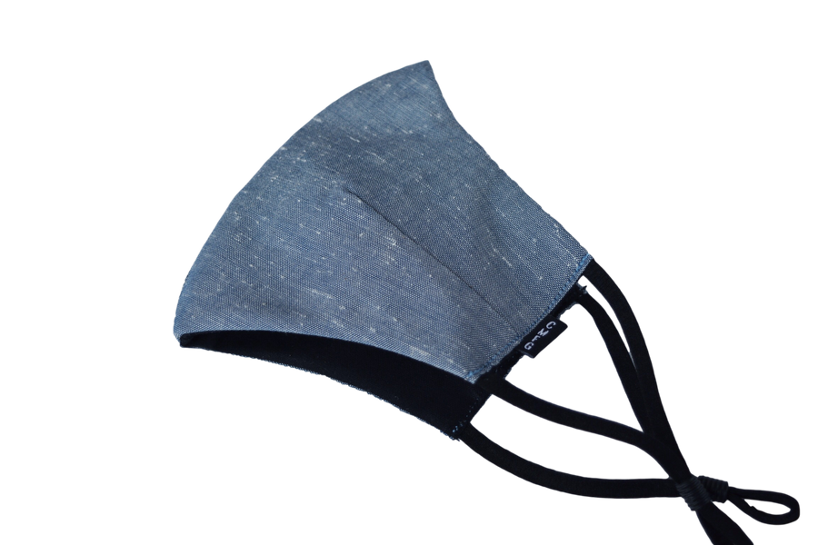 Triple Layer Chambray Nep Mask