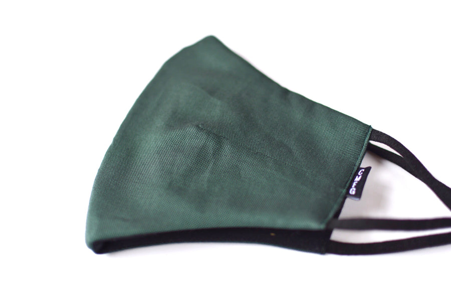 Triple Layer Green Oxford Mask