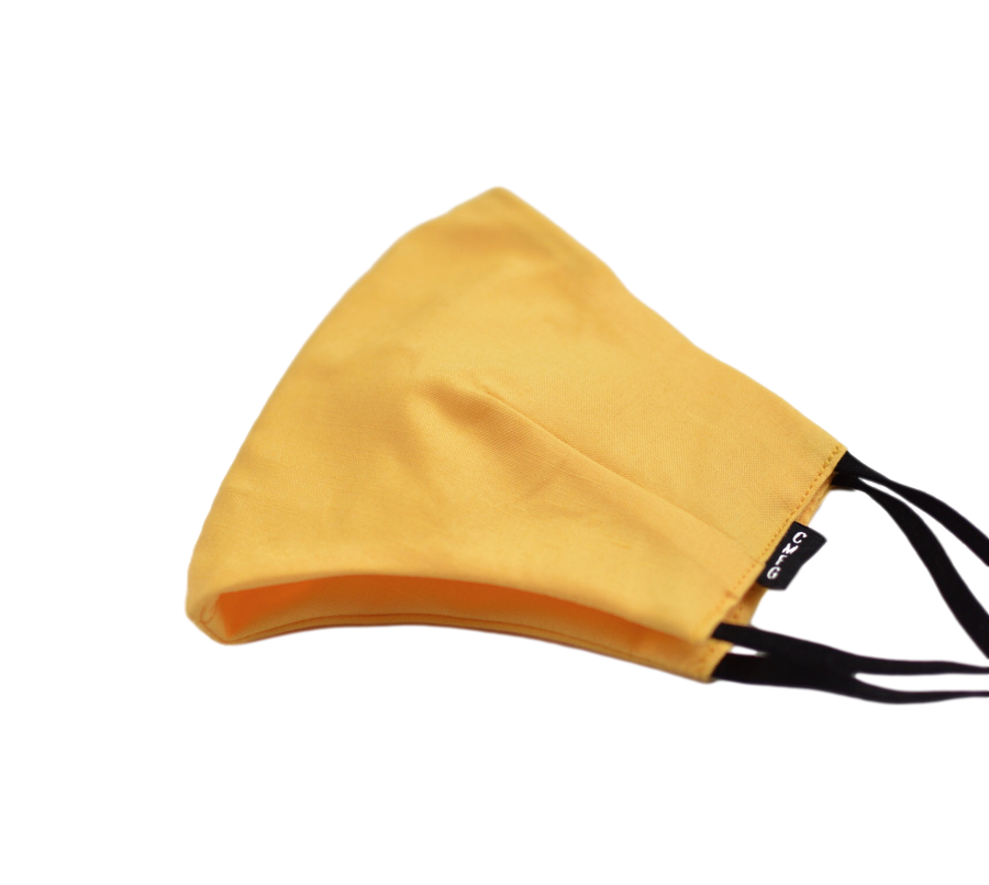 Triple Layer Canary Yellow Mask