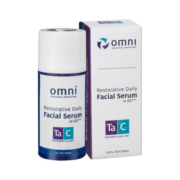 Omni Bioceutical Innovations TaC Restorative Daily Facial Serum with M-007®
