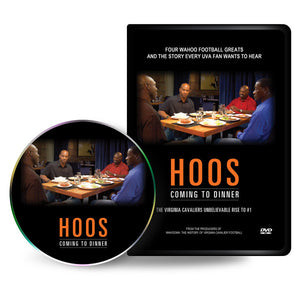 UVA HOOS COMING TO DINNER DVD