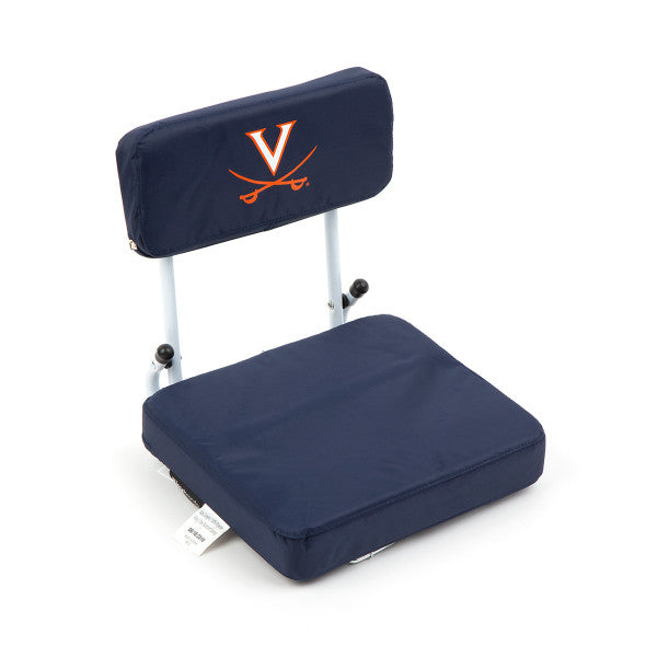 VIRGINIA NO ZIPPER HARD BACK STADIUM SEAT