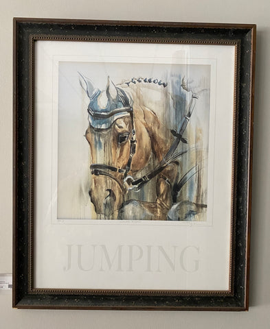 "Tammy Tappan Framed ""Clear Round"" Print"