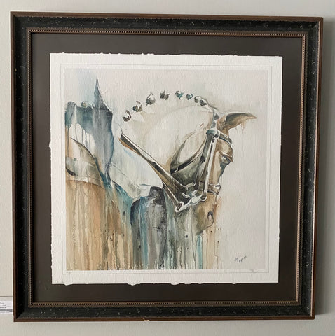 "Tammy Tappan Framed Print ""Connected"""