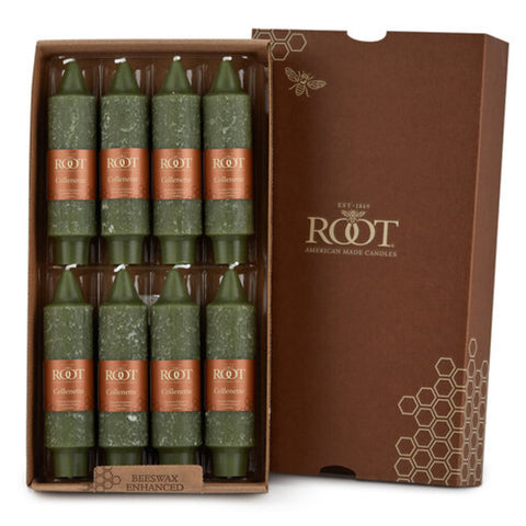 Box of Eight 5 inch Collenette Dark Olive