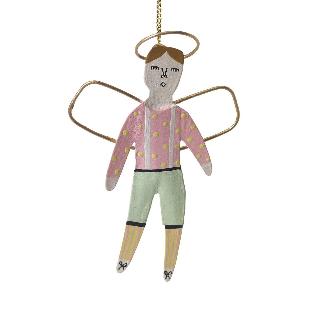 Cheer Angel Ornament