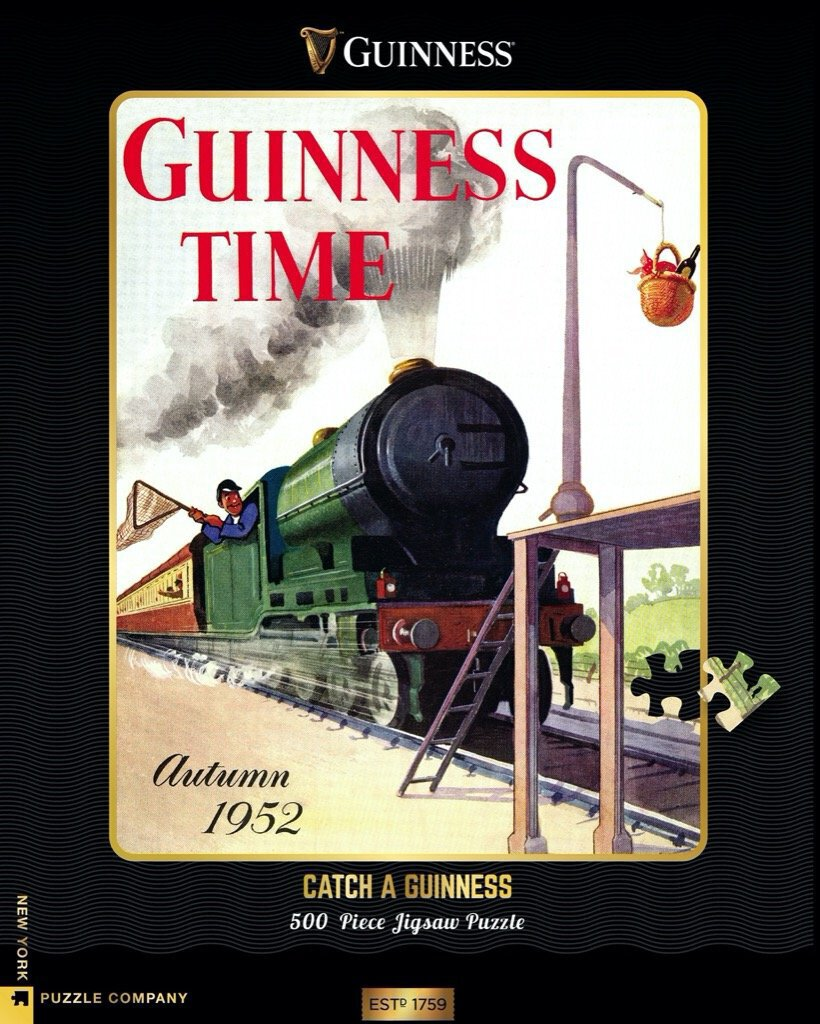 Catch a Guinness puzzle