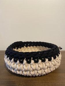 Medium Black Trim Basket