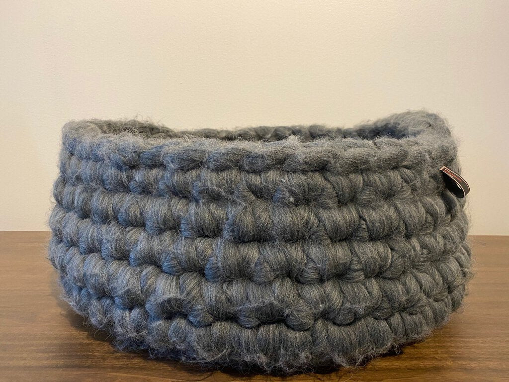 Medium Wool Basket