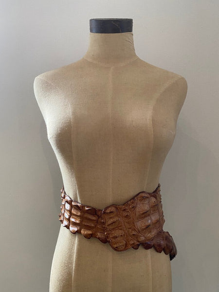 Crocodile Wrap Belt