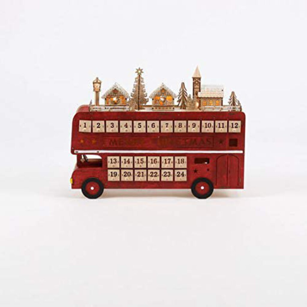 Double Decker Bus Advent Calendar