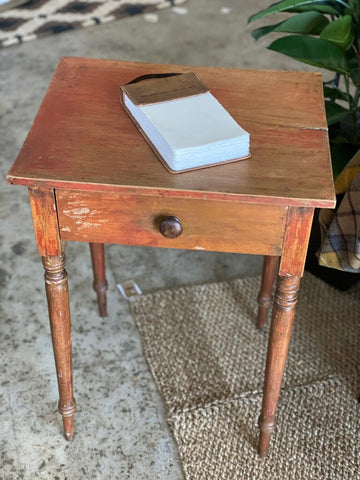 Primitive One Drawer Stand