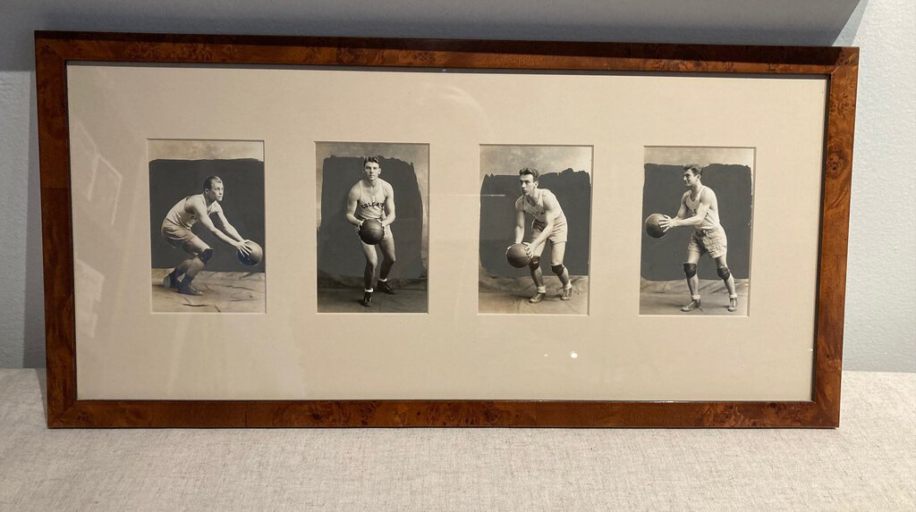 Colgate Vintage Basketball Photographs