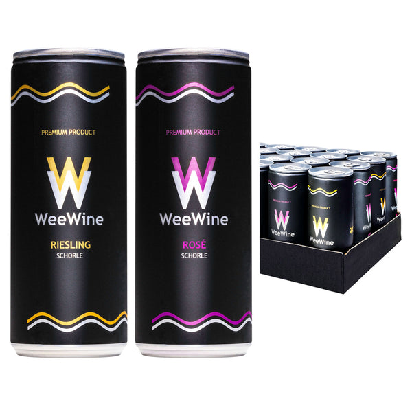 WEEWINE – WINE SCHORLE MIX (24x250ml)