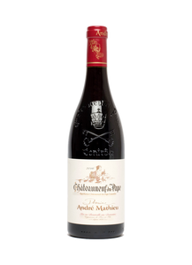 Chateauneuf-du-Pape rouge AOC 2016 Domaine Mathieu - Wine at Home