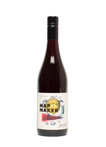 Pinot Noir 2016 Map Maker - Wine at Home