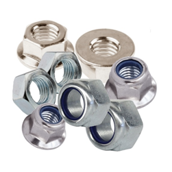 BRIGHT ZINC HEX NUTS