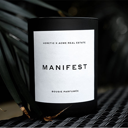 Manifest - ACME x Heretic Candle