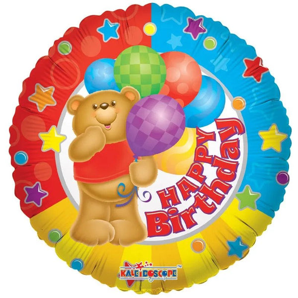 Birthday Bear Balloon (18 Inch)