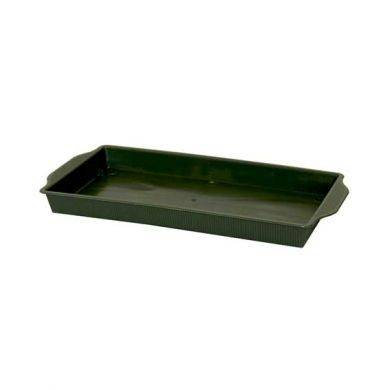 Floral Tray Single Green (PK25) (x4)