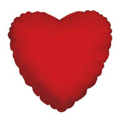 Heart Red (18 Inch) (Pack of 10)