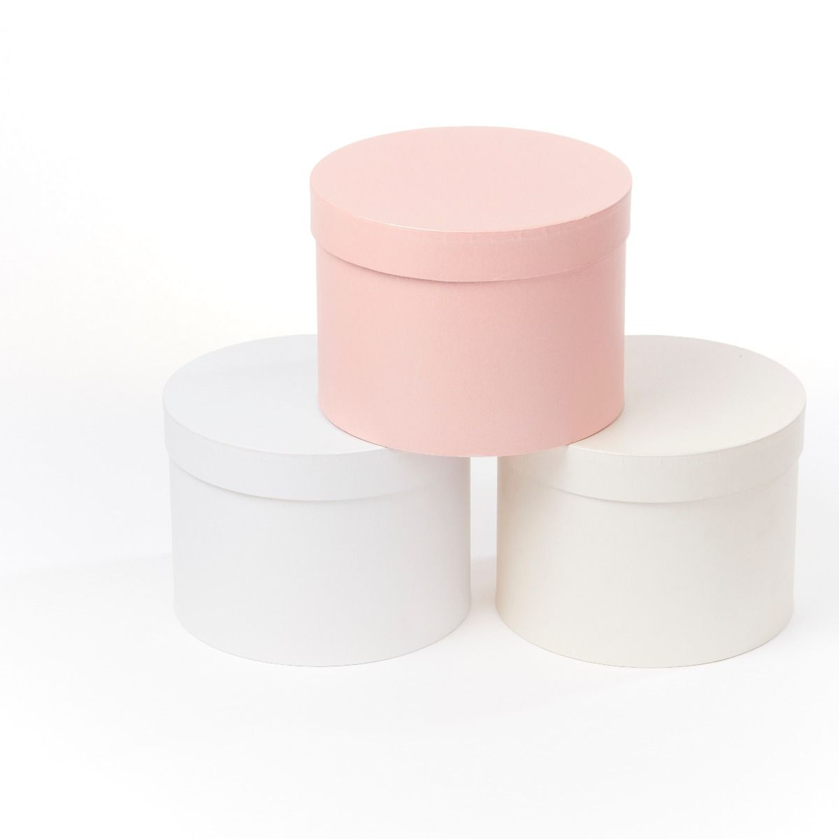 Symphony Round Lined Hat Box