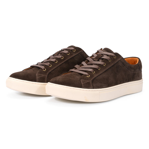 Dark Brown Suede Sneaker