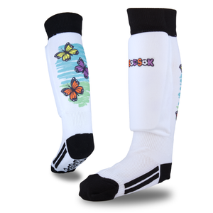 Butterfly Kids Soccer Socks