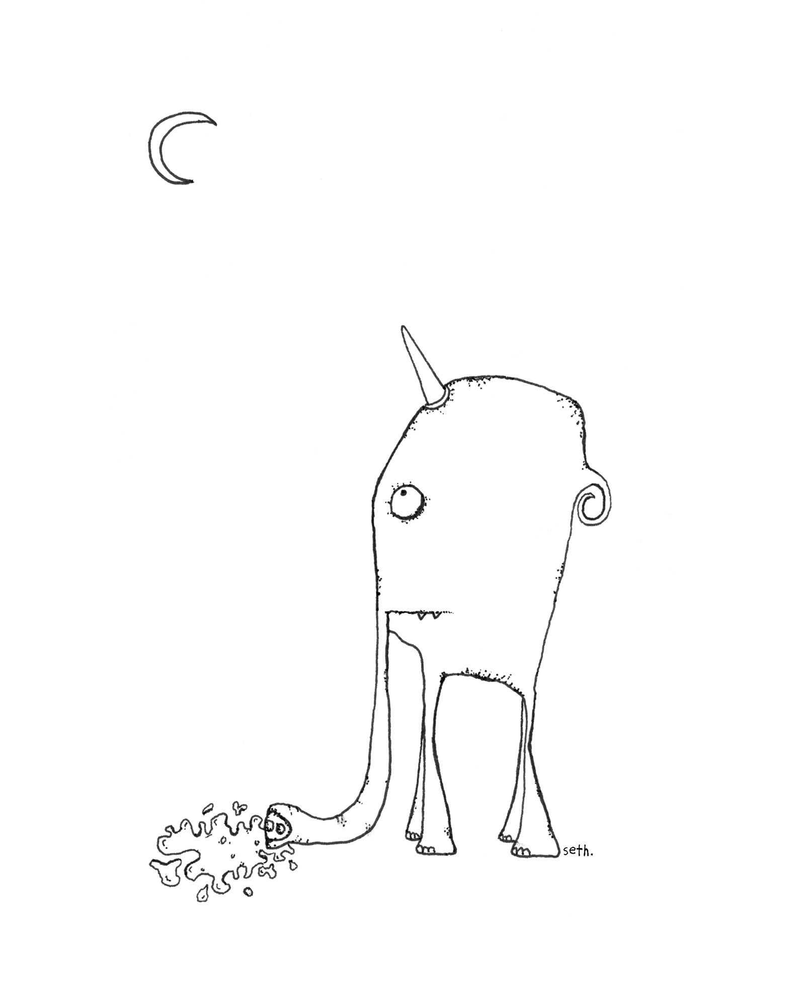 Sad Elephacorn