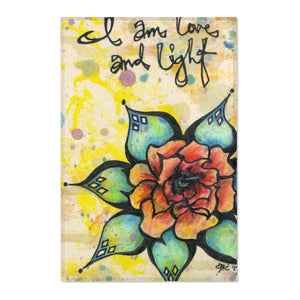 Love & Light by Caylin White Area Rug - TheRugChest