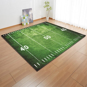 Does Your Kid Love Football?  Check Out This Really Cool Area Rug - TheRugChest