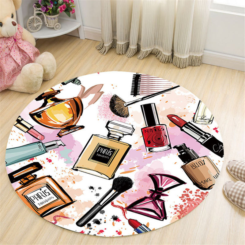 I Love These Round Area Rugs That Are Perfect For A Girls Room - TheRugChest