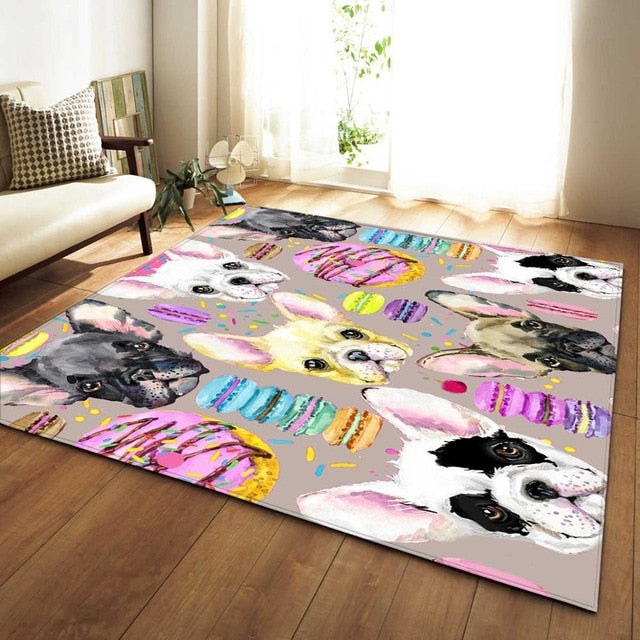 It's A Dog's World Area Rug - TheRugChest