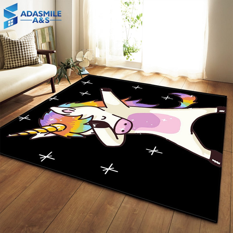 Make Your Child's Room Magical With This Unicorn Area Rugs - TheRugChest
