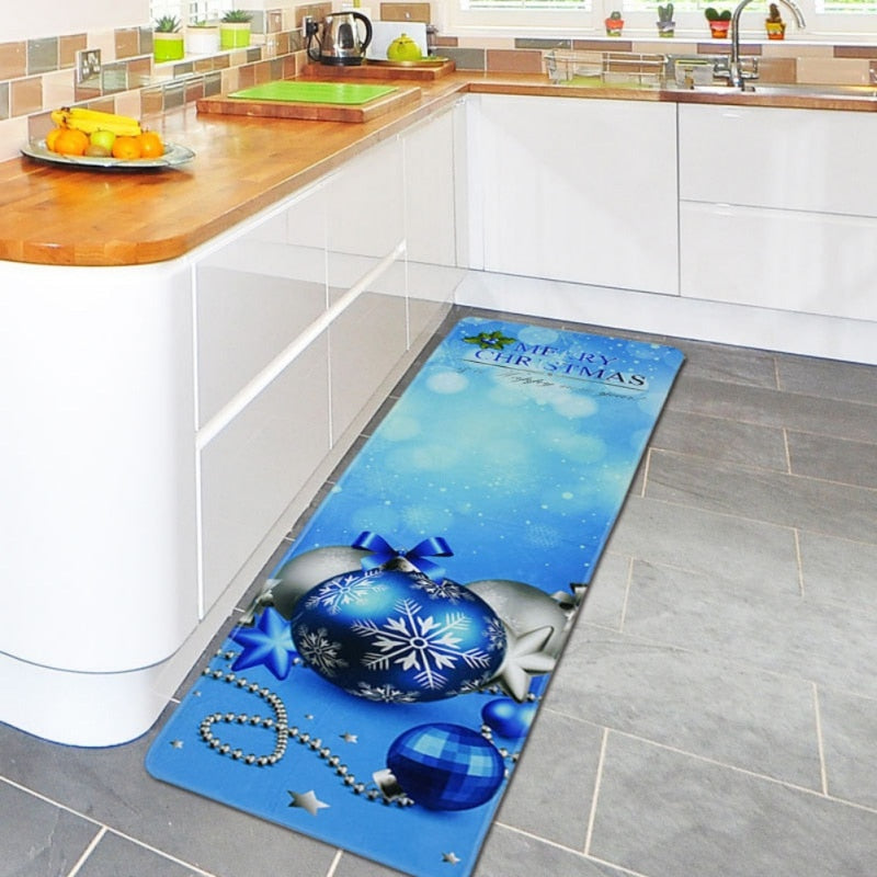 Christmas Theme Kitchen Mats - TheRugChest