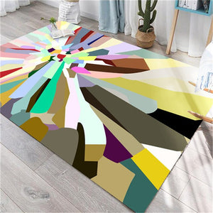 The Collection Of 4 Beautiful Rugs Is Soooo Colorful & Vibrant - TheRugChest
