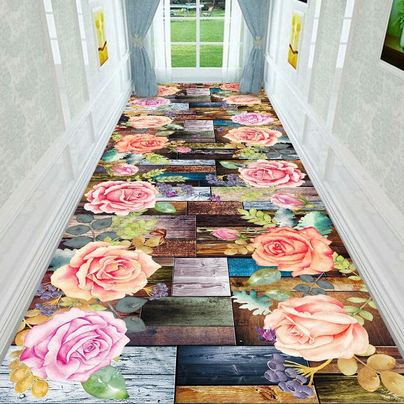 Turn Your Corridor Into A Runway Of Flowers - TheRugChest