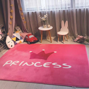 This Beautiful Pink Princess Area Rug Is Perfect For Your Little Princess - TheRugChest