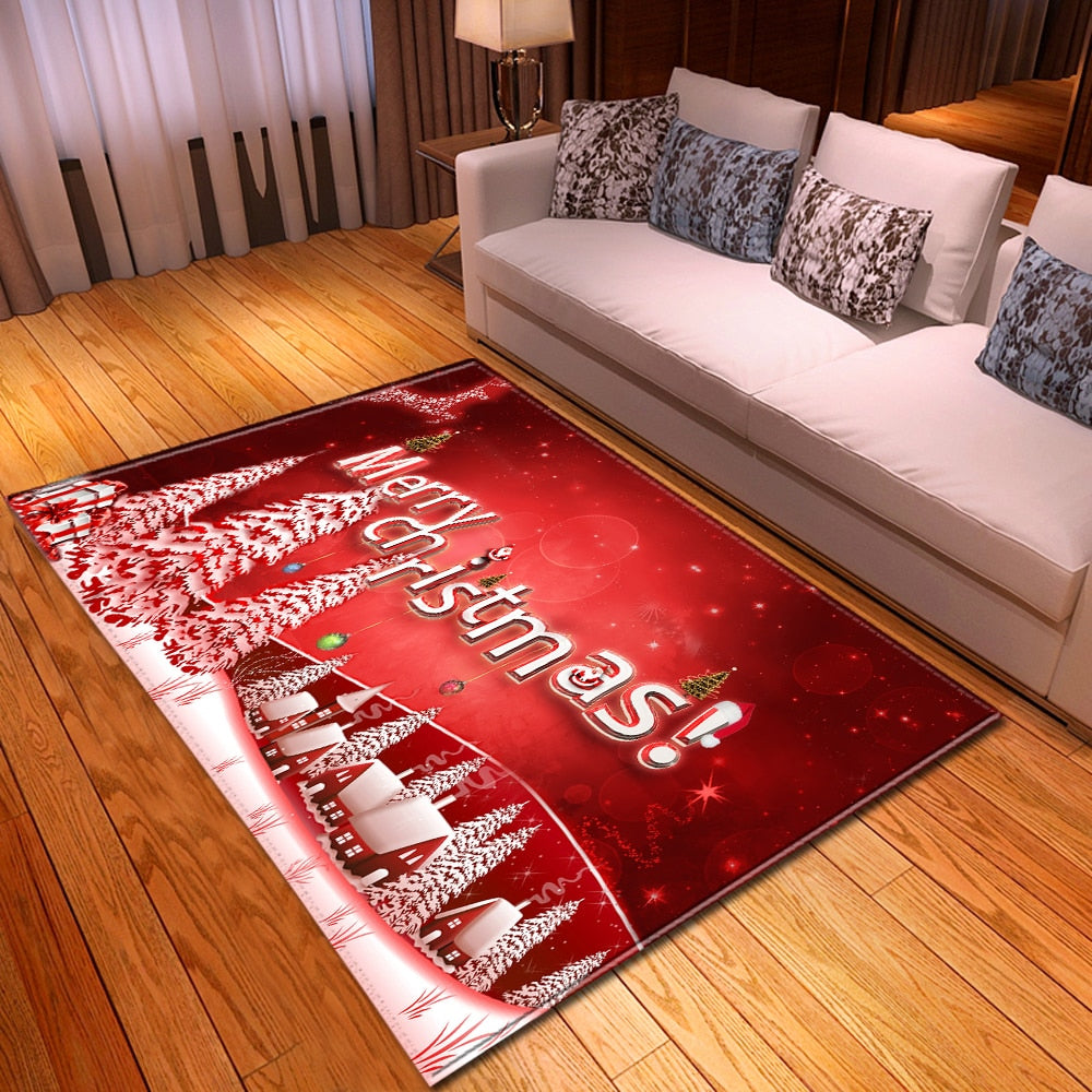 Christmas Area Rugs In Time For The Holiday - TheRugChest