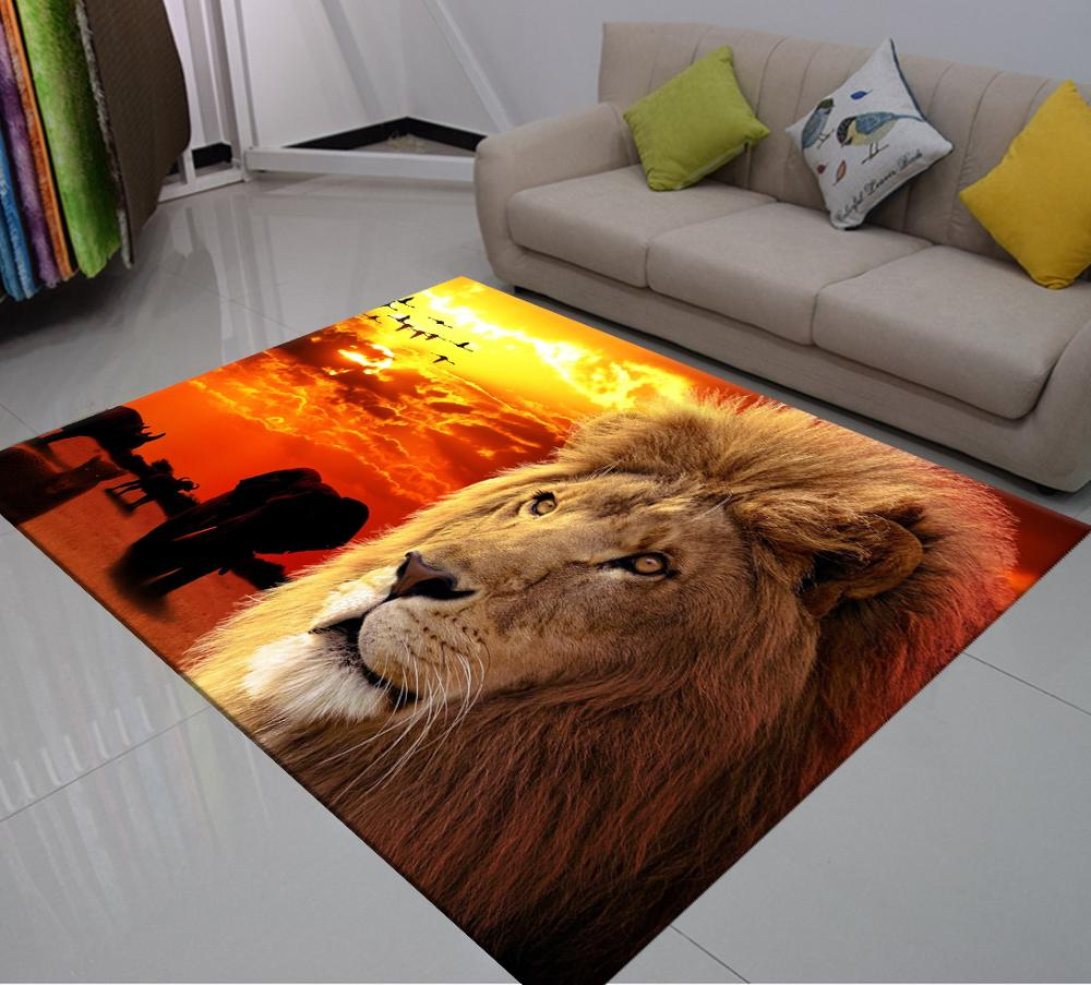 It's A Big Cat Safari With These Beautiful Area Rugs - TheRugChest