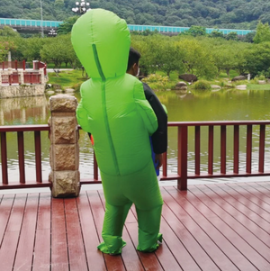 Inflatable Alien Costume for Adult