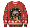 Happy Sloth | Ugly Christmas Sweater